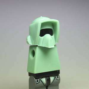 Custom Lego Star Wars Scout Trooper Helmet Sandgreen