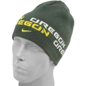 Nike Oregon Ducks Green Better Knit Beanie: Sports