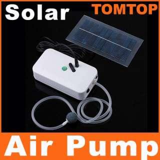 Solar Power Panel Oxygenator Aerator Air Pump Oxygen Pool Pond
