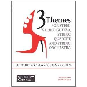 3 Themes for Steel String Guitar, String Quartet, and String