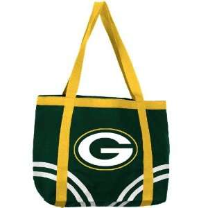 Green Bay Packers Green Large Canvas Tote Bag