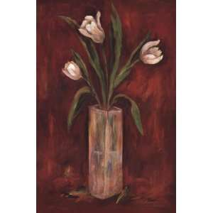 Red Hot Tulips by Joyce Combs 24x36: Home & Kitchen