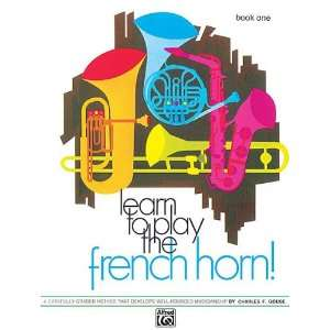 Learn to Play the French Horn Book 1 Gouse Books