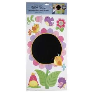 Express Yourself Wall Decor   Removable Stickers   Bird Chalkboard