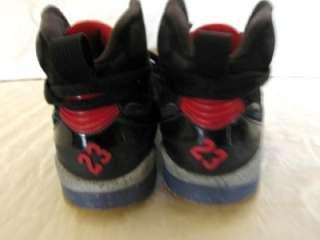 NIKE AIR JORDAN 354806 062 SIXTY PLUS BLACK RED & BLUE HIGH TOP SHOES