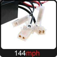 LED Car White Flash Strobe Light 3 Flashing Modes