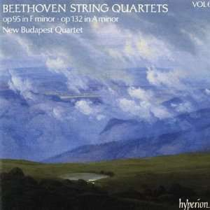 String Quartets V6 Beethoven, New Budapest Quartets Music