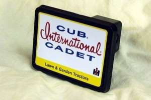 Vintage Cub Cadet International Lawn and Garden Tractor Logo Hitch