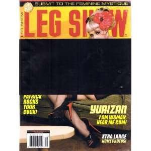 LEG SHOW MAGAZINE SEPTEMBER 2009: LEG SHOW: Books