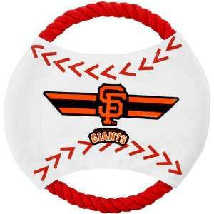 MLB San Francisco Giants Flying Rope Disk Dog Toy Sports