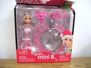 Barbie Mini B Christmas holiday ornament clip Angel #28