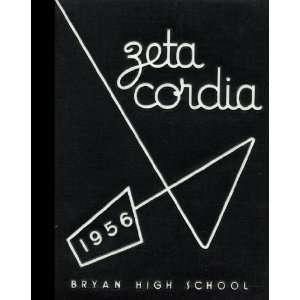 Reprint) 1956 Yearbook Bryan High School, Bryan, Ohio Bryan High