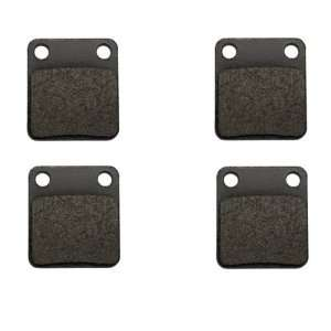 Yamaha YFM 250 Big Bear Kevlar Carbon Front Brake Pads: Automotive