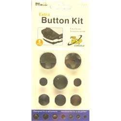 PSP Replacement Button Kits   Black  Overstock