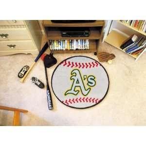 MLB   Oakland Athletics Baseball Rug Electronics