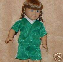 American Girl Doll Clothes Soccer Shirt and Shorts*