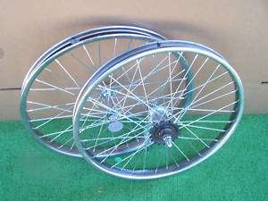 WHEELS PAIR 20 X 1.75 FRONT AND COASTER BRAKE REAR NEW