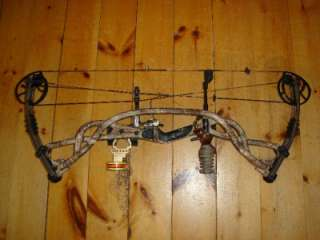Hoyt Carbon Element 70# Compound Bow Package QAD Rest Vital gear sight