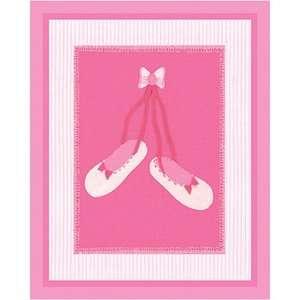 Art 4 Kids Candy Pink Slippers Wall Art Decor