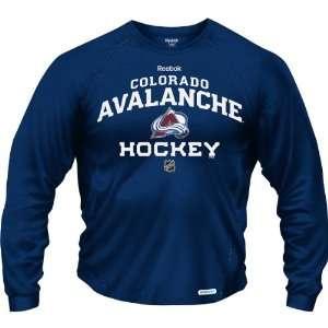 Reebok Anaheim Colorado Avalanche Team Hockey Long Sleeve