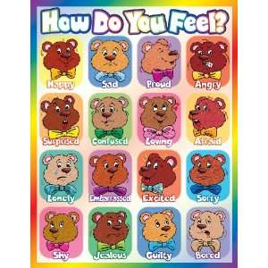 Scholastic How Do You Feel? Chart (TF2235) Office