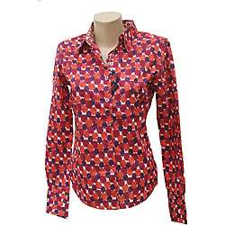 Robert Graham Womens Klied Long sleeve Shirt