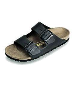 Betula Boogie Black Suede 2 strap Mens Sandals