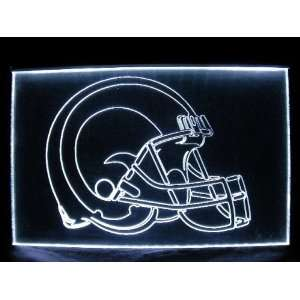 NFL  St. Louis Rams Helmet Neon Light Sign  Sports
