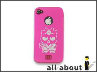 Phone 4S 4 Metal Case With Badtz Maru XO Cartoon Logo Aluminum
