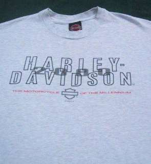HARLEY DAVIDSON MOTORCYCLES palm springs LARGE T SHIRT