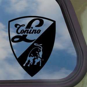Lamborghini Black Decal Logo Bull Car Truck Window Sticker
