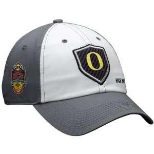 Nike Oregon Ducks White Gray 2011 BCS National Championship Bound