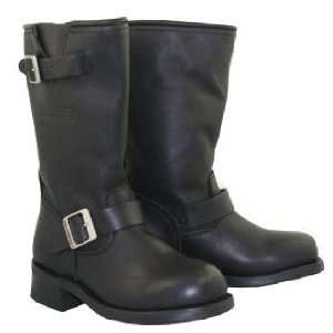 Womens Classic Motorcycle Advanced Engineer Biker Boot SZ 10