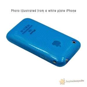 1x HYBRID FLEX SOFT TPU SILICONE GEL SKIN CASE COVER iPhone 3GS 3G S