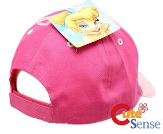 Disney TinkerBell Adjustable Baseball Cap/Hat  PINK