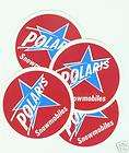 VINTAGE POLARIS SNOWMOBILE STICKER