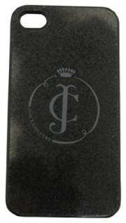 Juicy Couture Glitter Hard iPhone 4 Case Black New Clothing