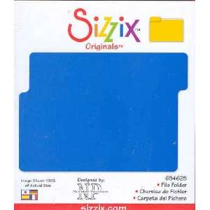 Sizzix Originals FILE FOLDER Die RED 654625 Home & Kitchen
