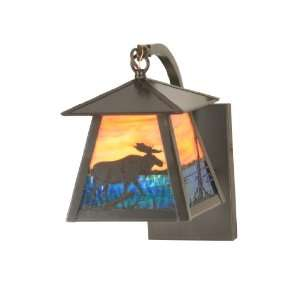 Rustic / Country Single Light Down Lighting Outdoor Wall Sconc