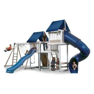 Kidwise Monkey Play Set III Wood Swing Set Outdoor Play