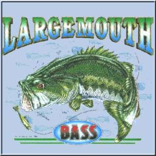 Largemouth Bass Fish Fishing Fisherman T Shirts KIDS
