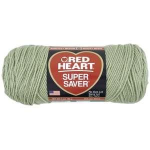 Red Heart Super Saver Yarn 661 Frosty Green 7 oz Crafts