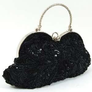 Shoulder Tote Hand Bag Clutch Purse Wallet Black Toys & Games