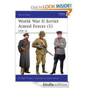 World War II Soviet Armed Forces (1) 1939 41 (Men at Arms) [Kindle