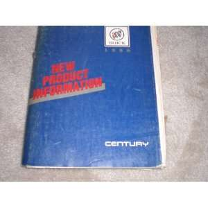 1988 Buick Century New Product Information general motors co. Books