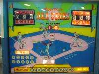 CHICAGO COIN ALL  STAR BASEBALL COIN OP ARCADE GAME MACHINE VINTAGE