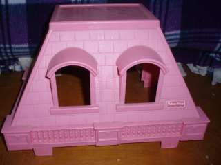 FISHER PRICE LOVING FAMILY DOLLHOUSE PARTS & PIECES DOORS WINDOWS