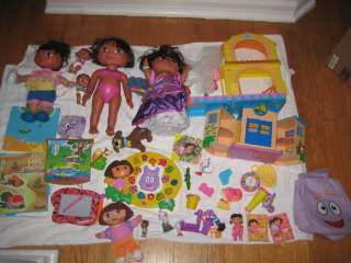 Of Dora The Explorer Toys Dolls Backpack Stable Rescue Center Games