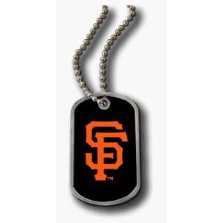 SAN FRANCISCO GIANTS DOMED DOG TAG NECKLACE *SALE* Sports