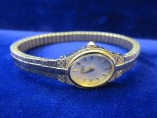 Womens Gold Tone Expansion Bracelet Watch EK3682 97P C673